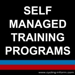 Self Managed Cycle Training Programs